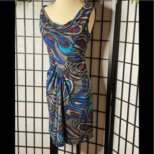 Trina Turk Paisley Geometric Dress Sz 2